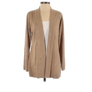 Karen Scott NWT tan cardigan